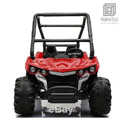 12V ATV Quad Kids Electric Ride On Car with Remote Control, 2 Seats, MP3, USB