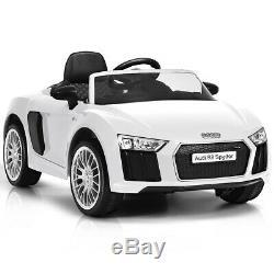 12V Audi R8 Spyder Licensed Electric Kids Ride On Car R/C Suspension MP3 Lights