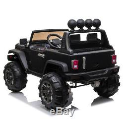 12V Electric Battery Kids Ride on Truck Car Toys Gift with LED MP3 Storage Basket