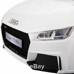12V Electric Kids Ride On Car Licensed MP3 LED Lights RC Remote Control White