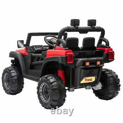 12V Electric Kids Ride On Car Motorized Off-Road Vehicle With 2.4G Remote Control