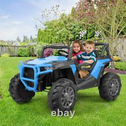 12V Electric Kids Ride-On Car SUV with MP3 3 Speeds LED Lights Bluetooth RC New
