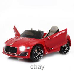 12V Electric Kids Ride On Car Truck Toy Remote Control LED MP3 For Bentley