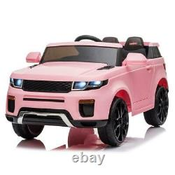 12V Electric Kids Ride On Car Truck Toy withRemote Control for 3 to 8 Years Pink