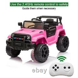 12V Electric Kids Ride On Truck Car Toy Battery 3 Speed With Remote Control
