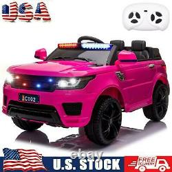 12V Electric Kids Ride On Truck Car Toy Battery 3 Speed With Remote Control USA