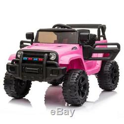 12V Electric Kids Ride on Car Truck Toys 3 Speeds MP3 LED withRemote Control