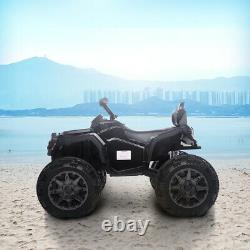 12V Electric Kids Ride on Toy Car c 4-Wheeler ATV Quad LED Headlights Music Horn
