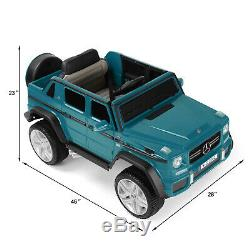12V Electric Mercedes-Benz Kids Ride On Car Toys USB MP3 LED With Remote Control