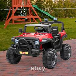12V Electric Motorized Off-Road Vehicle, 2.4G Remote Control Kids Ride On Car