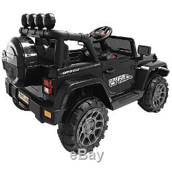 12V Jeep Style Electric Kids Ride On Car with Remote control, Facelift Grille