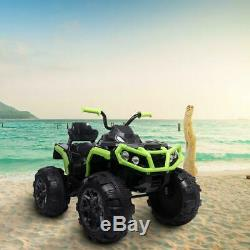 12V Kids Electric ATV Ride On Toy Car Battery with 2 Speeds, LED Lights, Sounds