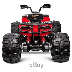 12V Kids Ride On ATV Quad Electric Toy Car Battery Powered High/Low Speed MP3