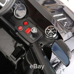 12V Kids Ride On Car Licensed Mercedes Benz 3 Speed withRemote Control MP3 Black
