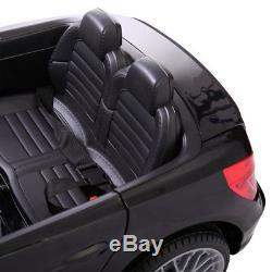 12V Kids Ride On Car Mercedes Benz License MP3 Remote Control Power Wheels Black