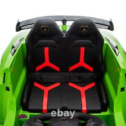 12V Kids Ride On Car Motorized Licensed Lamborghini with Remote Control Music LED