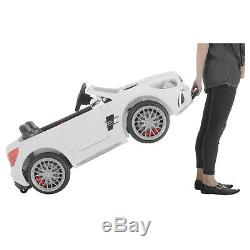 12V Kids Ride On Car Toy Double Seat SL65 Licensed Mercedes WithRemote MP3 & Light