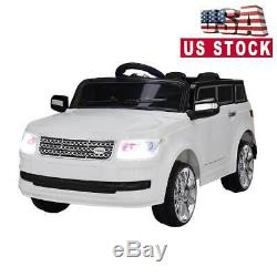 12V Kids Ride On Car Truck Battery Power 2 Speed WithLights Music RC 2 Motors