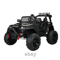 12V Kids Ride On Jeep with Remote Control Electric Car 3 Speeds