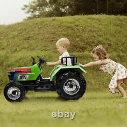 12V Kids Ride On Tractor withRemote Control Electric Tractor Car for age 3-6 Years