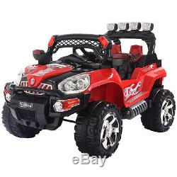 12V Kids Ride On Truck Car SUV MP3 RC Remote Control with LED Lights Music