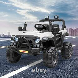 12V Kids Ride On Truck with Remote Control Battery Powered Ride on Toy Car