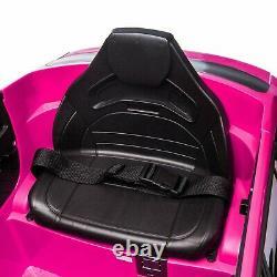 12V Kids Ride On Vehicle Car Licensed Mercedes Benz GLC withRemote Control Pink