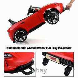 12V Kids Ride on Car Convertible Style Electric Battery Powered Vehicle WithRemote