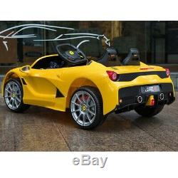 12V Kids Ride on Car Lamborghini Childrens Electric Toy Battery Power + MP3 Play