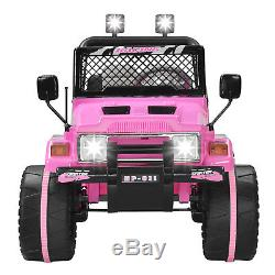 12V Kids Ride on Cars Electric Battery Power Wheels Remote Control USB Player