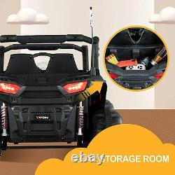 12V Kids Ride on Toys Electric Battery Powered 2Seater Truck Car RC Toy withRemote