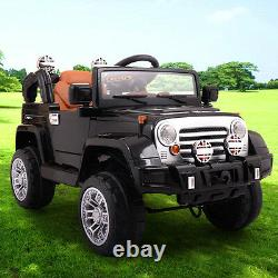12V Kids Ride on Truck Battery Powered Electric Car WithRemote Control