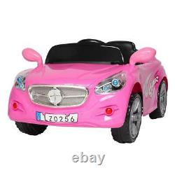 12V Kids SUV Ride-On Car Toys Electric Lights, Music, Remote Control, Pink