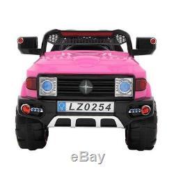12V Kids Truck SUV Ride-On Car Toys 2 Speeds, Light, Music, Parent RC Control