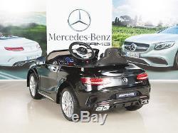 12V Ride on Car Kids RC Remote Control Electric Power Wheels Radio & MP3 Black