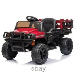 12V Ride on Truck Kids Car Toys Wheels Battery Power Music Light Remote Control