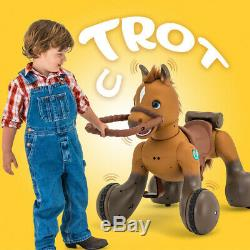 12-Volt Interactive Rideamals Scout Pony Ride-On Toy by Kid Trax