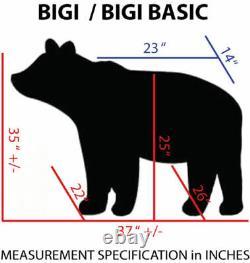 12v MOTORIZED ADULT SIZE ANIMAL RIDE BIGI BASIC-BLACK BEAR by Giddy Up Rides