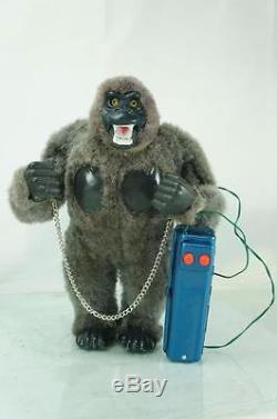 1950s Marx Mighty Kong King Kong Battery Operated Toy With Original Box Large