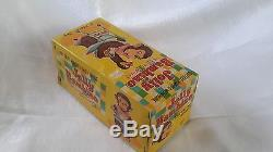 1950's JOLLY BAMBINO, CANDY EATING MONKEY, BATTERY OPERATED TOY, ALPS JAPAN, MIB