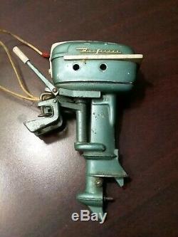 1950's Vintage Buccaneer toy outboard motor, for parts or restoration, Japan