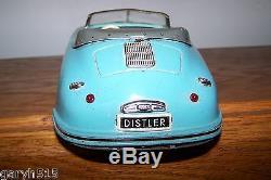 1950s DISTLER ELECTRO MATIC 7500 FS PORSCHE BLUE/GREEN CAR & GERMAN BOX