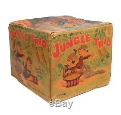 1950s JUNGLE TRIO in Box LINEMAR Nice Working SEE VIDEO