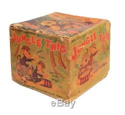 1950s JUNGLE TRIO in Box LINEMAR Nice Working SEE VIDEO