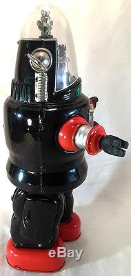 1950s Nomura Mechanized ROBBY the ROBOT Tin Battery Operated TN Japan Toy withBox