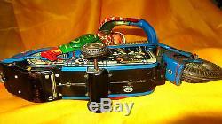1950s Vintage Battery Operat Masudaya TM World Champion Motorcycle tin toy Japan