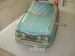 1955 BATTERY OPERATED ELECTRIC POWERED MARX MOBILE CAR, withBOX, UNPLAYED WITH