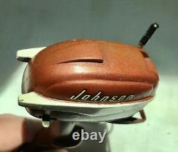 1956 K&O Johnson 30hp Battery Operated Outboard Motor, Runs Good, Parts Motor