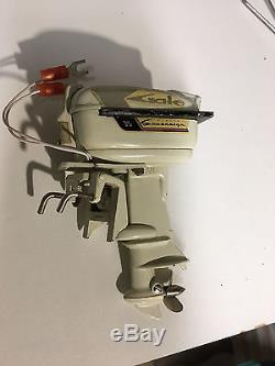 1959 Gale Sovereign outboard boat motor toy vintage japan RUNS