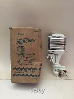 1959 Mercury Mark 78a Toy Outboard Motor Original Box